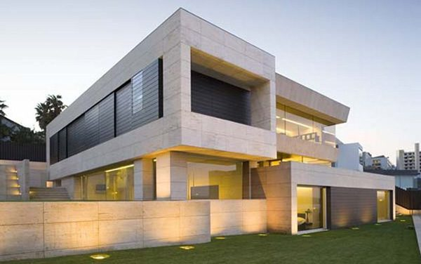 Minimalist Spanish Cliff House by A-Cero