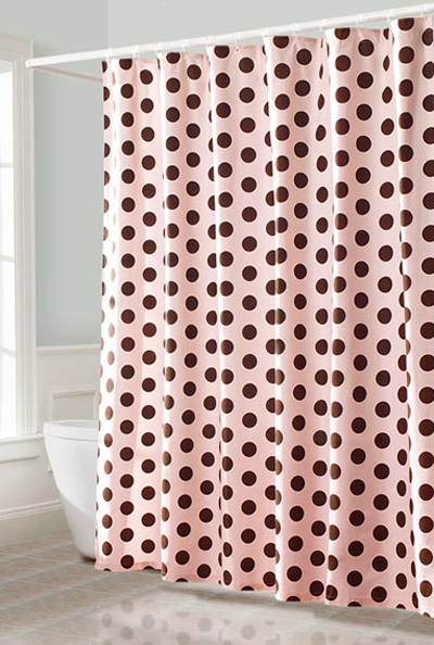 retro shower curtain. retro pink shower curtain h
