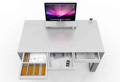 Charming Convenient Computer Desk   Design Computer Desk