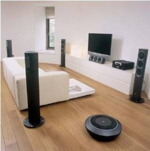 The New Innovation In Home Improvement  Wireless Surround Sound Speaker  System