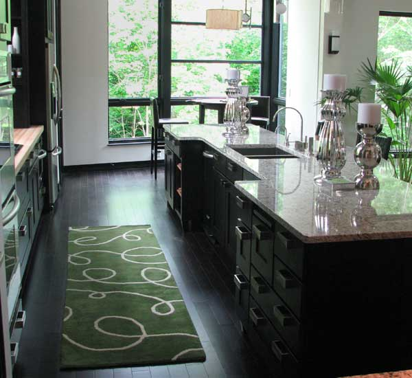 kitchen area rugs: simple decoration for your kitchen floor