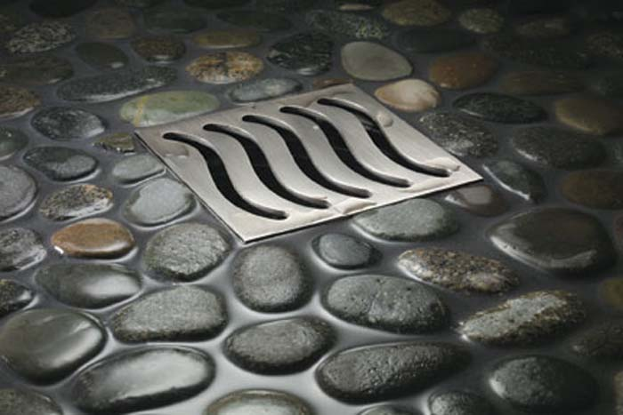 stylish square shower drain cover