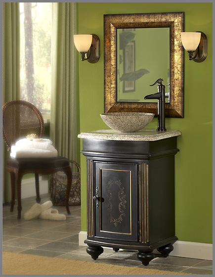 . Make a Style Statement In Your Bathroom With A Vessel Sink Vanity