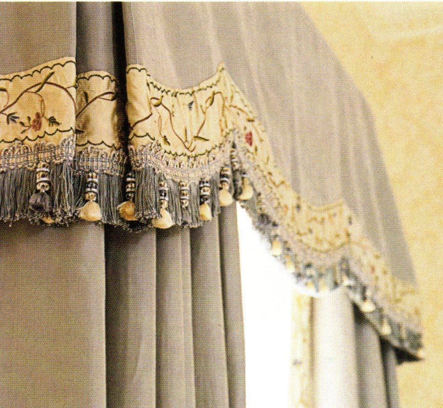 Designer Window Valances lined window valances: a bright way to add bright color