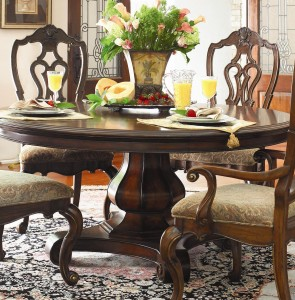 adopting asian philosophy with round kitchen tables