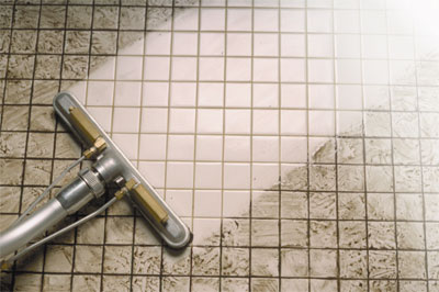 2 household substances for cleaning grout tiles - Clean tile grout efficiently ...