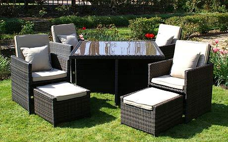 the best time of year to find a rattan garden furniture sale