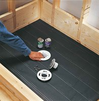 Important Considerations Involved In The Process Of How To Build A. Shower  Pan Installation Floor Tile