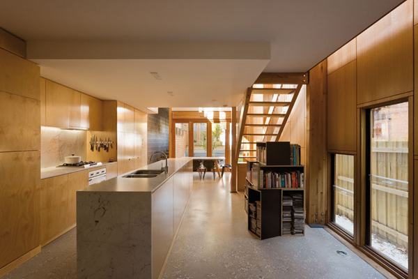 Eco Friendly Compact House In Australia By Tandem Design Studio Everything Simple