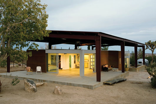 Sustainable Canopy House Made with Recycled Materials by Architect Lloyd Russell