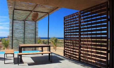 Beachfront Bungalow House in Baja, Mexico by Gracia Studio