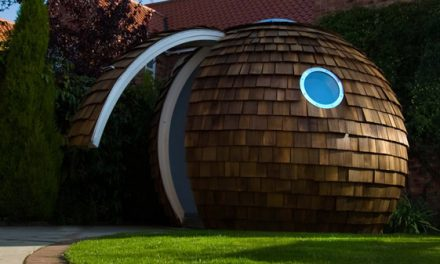 Compact Archipod Shed Fun and Functional