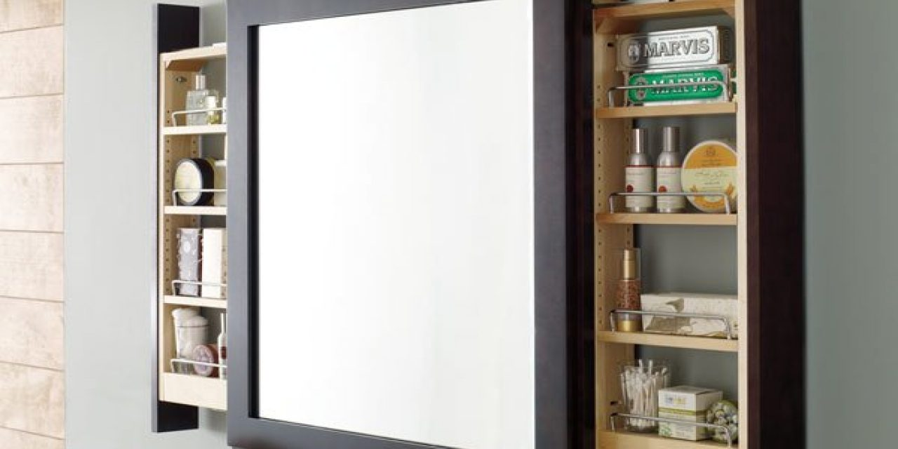 Cool Beautifying Your Bathroom with Recessed Medicine Cabinets with Mirrors
