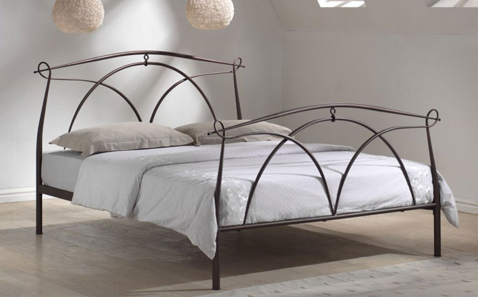 Epic Modern metal bed Metal bed frames