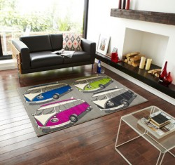 Designer Decor Rug Buses