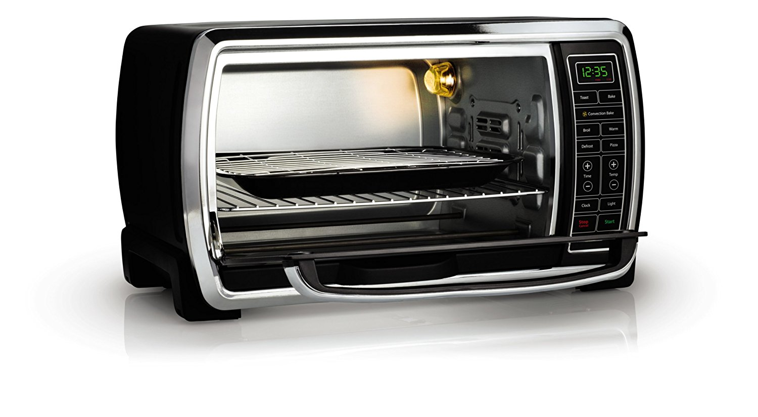 Top 7 best toaster ovens reviewed for healthy cooking - Cool touch exterior convection toaster oven ...